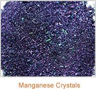 manganese-crystals